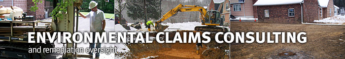 Environmental claims consulting & remediation oversight